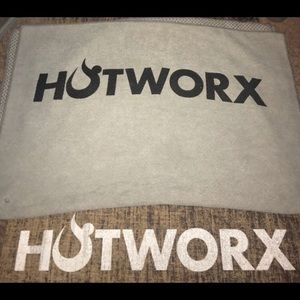 HotWorx Yoga Mat, towel and carrying strap